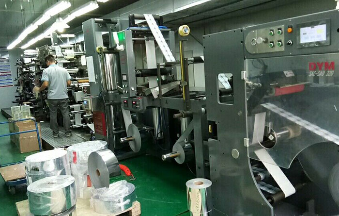 DINGYU Non-Stop Unwinding machine significantly improve Guangzhou Jumei Printing Co., Ltd. business
