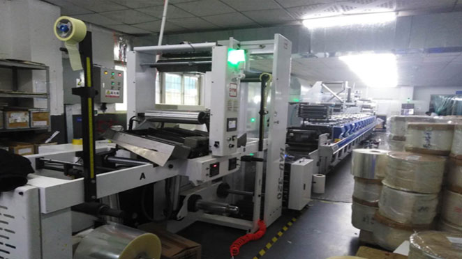 Shanghai printers install DINGYU Non-stop printing system in batches
